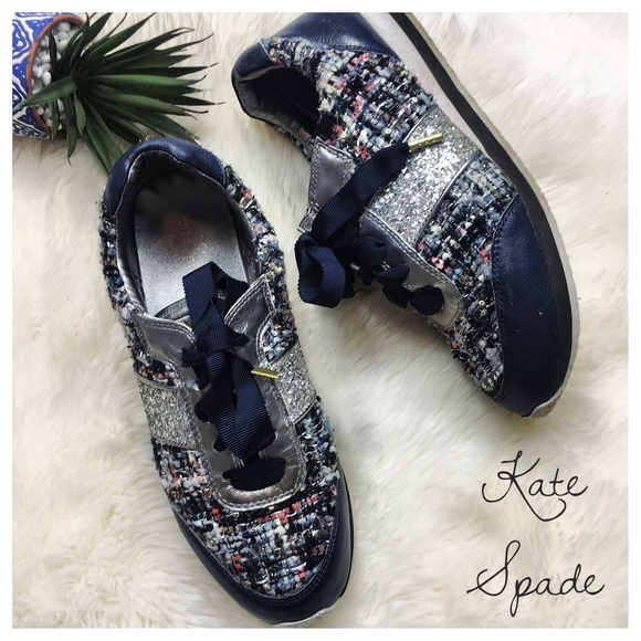 kate spade sparkly trainers